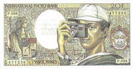 BILLET FAUX FICTIF  INTERNATIONAL PHOTO BANK  PUBLICITÉ  PELLICULE PHOTO POUR COLLECTIONNEUR - Specimen