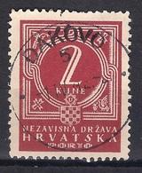 CROATIA 1941.-1945  ĐAKOVO 5 Postmark - Croatia