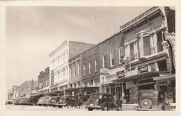 Rare Cpa  Mexia East Commerce Street Avec Vielles Voitures Et Pubs Coca-Cola - United States