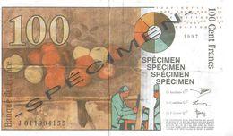 BILLET FAUX FICTIF  SPÉCIMEN PUBLICITÉ POLITIQUE POUR LE FRONT NATIONAL  ELECTIONS 2001  POUR COLLECTIONNEUR - Specimen