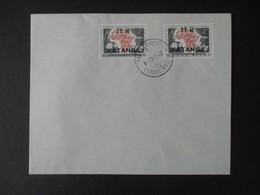 Envelloppe (V1909) KATANGA (2 Vues) 50/51 - 23/02/1961 ELISABETHVILLE - Katanga