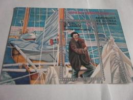 Miniature Sheet Perf Transatlantic Travel - Equatorial Guinea