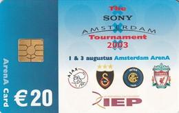 TARJETA FUNCIONAL DE AMSTERDAM ARENA CARD DE HOLANDA (CHIP), FUTBOL. Amsterdam Tournament 2003.  A052.03 (200) - Otros
