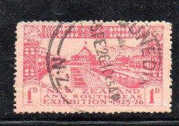 APR1087 - NEW NUOVA ZELANDA 1925 ,   Yvert  N. 181  Usato (2380A) Dunedin - Usati