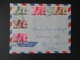 Envelloppe (V1909) KATANGA (2 Vues) 40/49 - 23/11/1960 ELISABETHVILLE - Katanga