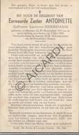 Doodsprentje Zuster/Soeur Antoinette / Lucienne Herreman °1911 Hamme †1951 (B170) - Obituary Notices