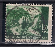 CROATIA 1941.-1945  GORNJI VAKUF  Postmark - Croatia