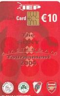 TARJETA FUNCIONAL DE AMSTERDAM ARENA CARD DE HOLANDA (CHIP), FUTBOL. Sony Amsterdam Tournament 2004.  A063.02 (199) - Otros