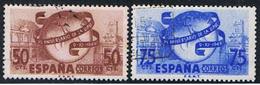 (1E 185) ESPAÑA // YVERT 795, 796 // EDIFIL 1063, 1064 // 1949 - 1931-Today: 2nd Rep - ... Juan Carlos I