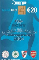 TARJETA FUNCIONAL DE AMSTERDAM ARENA CARD DE HOLANDA (CHIP), FUTBOL. Sony Amsterdam Tournament 2004.  A063.03 (198) - Otros
