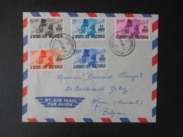 Envelloppe (V1909) KATANGA (2 Vues) 40/49 - 23/11/1960 ELISABETHVILLE B - Katanga