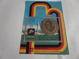 Miniature Sheet Perf 1972 Munich Olympics - Equatorial Guinea