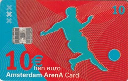TARJETA FUNCIONAL DE AMSTERDAM ARENA CARD DE HOLANDA (CHIP), FUTBOL. A Day At The Amsterdam Arena. A046.02 (196) - Otras Colecciones