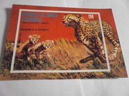 Miniature Sheet Imperf Nature Protection Leopards - Equatorial Guinea