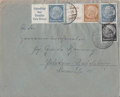 DR Brief Zdr. Minr.A13, A17,S171 Premnitz 16.10.41 - Deutschland