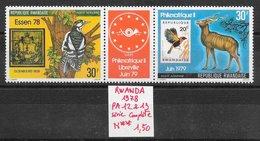 Animaux Divers Pic Philatélie Timbre - Rwanda PA N°12 & 13 1978 ** - Zonder Classificatie