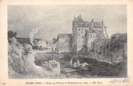 75-PARIS ANCIEN RESTES DE L ABBAYE DE MONTMARTRE-N°1144-C/0103 - Autres