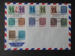 Envelloppe (V1909) KATANGA (2 Vues) 52/65 - 01/03/1961 ELISABETHVILLE - Katanga