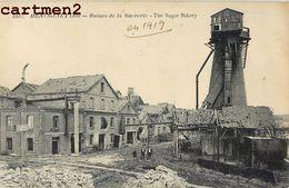 HENIN-LIETARD RUINES DE LA SUCRERIE 62 - France