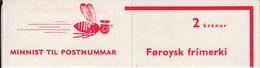 1975 1st Faroe Booklet? 2K 2x70o SG10 + 6x10o SG7 Stamps - Isole Faroer