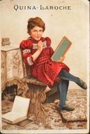 Très Belle Et Grande Chromo. QUINA LAROCHE - Sans Légende - TBE - Old Paper
