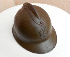 Casque Adrian Modèle 26 DP Défense Passive WW2 - Casques & Coiffures