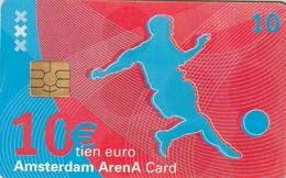 TARJETA FUNCIONAL DE AMSTERDAM ARENA CARD DE HOLANDA (CHIP), FUTBOL. A Day At The Amsterdam Arena. A046.02a (197) - Otras Colecciones