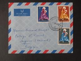 Envelloppe (V1909) KATANGA (2 Vues) 1/3 23/11/1960 ELISABETHVILLE - Katanga