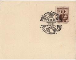 AUTRICHE YT N°741 OBLITERATION FESTVAL DU CINEMA SALZBOURG 1950 THEME CINEMA - Cultures