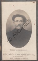 Doodsprentje Eduard Van Goethem °1879 Beveren Waas †1929 Echtg. Maria Clementina Van Goethem (B221) - Obituary Notices