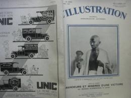 L'ILLUSTRATION 4544 HYDRAVION JAPONAIS/ RALLYE SAHARA / MAROC / PARIS / INDE GANDHI/CLEMENCEAU - Journaux - Quotidiens