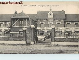 HENIN-LIETARD L'HOSPICE, ENTREE PRINCIPALE 62 - France