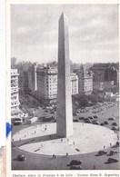 Obelisco, Sobre La Avensida 9 De Julio, Buenos Aires R Argentinia (pk60572) - Argentina
