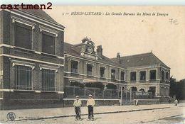 HENIN-LIETARD GRANDS BUREAUX DES MINES DE DOURGES 62 - France