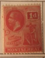 Montserrat - MH* - 1922-1929 - # 57 - Montserrat
