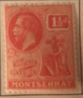 Montserrat - MH* - 1922-1929 - # 58 - Montserrat