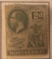 Montserrat - MH* - 1922-1929 - # 61 - Montserrat