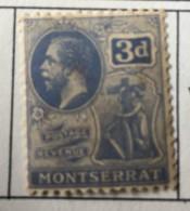 Montserrat - MH* - 1922-1929 - # 64 - Montserrat