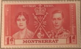 Montserrat - MH* - 1937 - # 89/91 - Montserrat