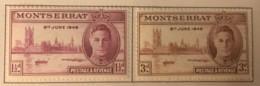 Montserrat - MH* - 1946 - # 104/105 - Montserrat