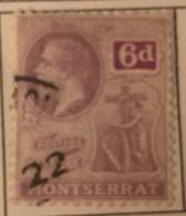 Montserrat - (0) - 1922-1929 - # 68 - Montserrat