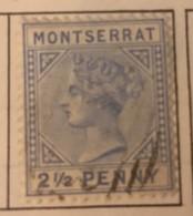 Montserrat - (0) - 1885 - # 8 - Montserrat