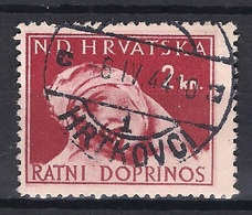 CROATIA 1941.-1945  HRTKOVCI 1 Postmark - Croatia