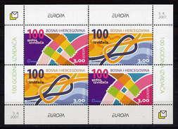 Bosnien-Herzegowina (kroatische Republik) / Bosnia (croatian Post) / Bosnie-Herzégowine Mostar Block 2007 EUROPA ** - Europa-CEPT