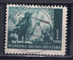 CROATIA 1941.-1945 HRVATSKA MITROVICA D Postmark - Croatia