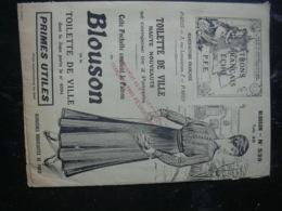 PATRON DU BLOUSON TOILETTE DE VILLE N° 539 TAILLE 40 - Vieux Papiers
