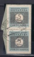 CROATIA 1941.-1945 HRVATSKA MITROVICA E Postmark - Croatia