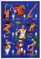 KENYA 1996 - OLYMPICS ATLANTA - YVERT Nº 637-645** - Kenya (1963-...)