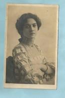 Photographie Généalogie  Portrait Femme - Genealogy
