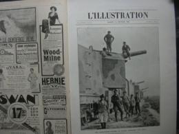 L'ILLUSTRATION 3911 CANONNIERS MARINS/ PROCES BOLO/ CLEMENCEAU/ SULTAN ABDUL HAMID/ DECORATIONS/ TOURBIERE - Journaux - Quotidiens